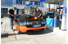 Bugatti Veyron 16.4 Super Sport, Tankstelle