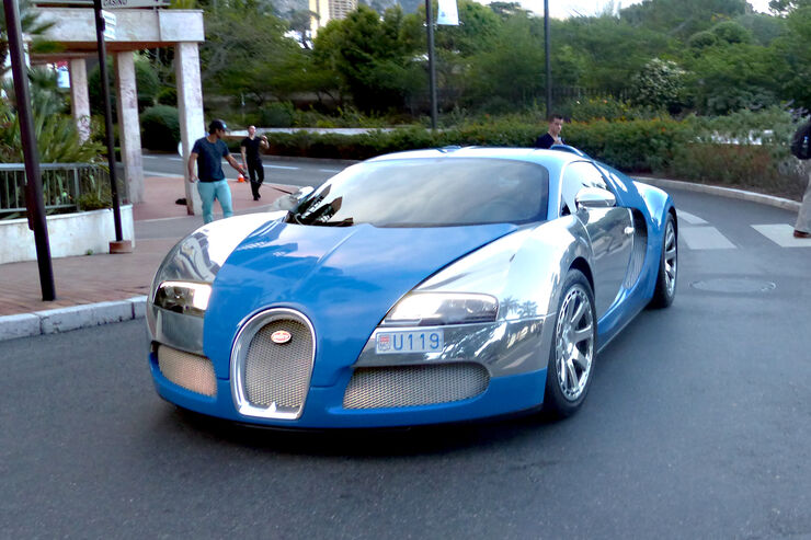 Bugatti Veyron -  Carspotting - Formel 1 - GP Monaco 2015