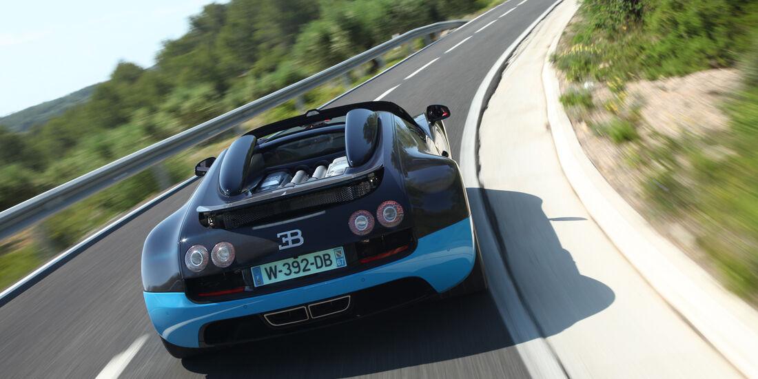 Bugatti Veyron Grand Sport Vitesse, Heck
