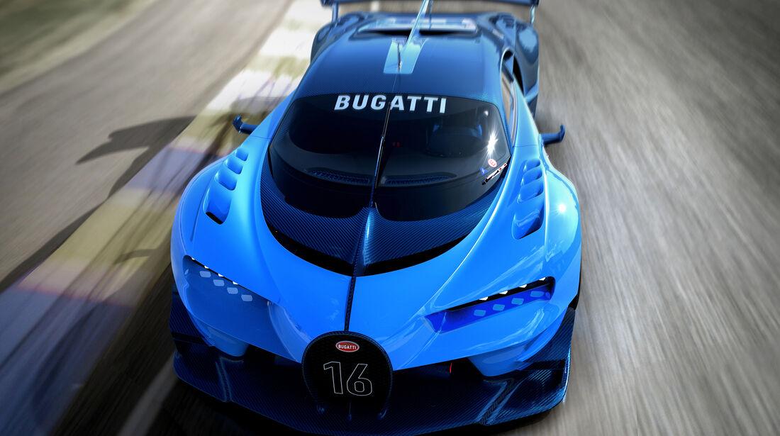 Bugatti Vision GT, 09/15, Le Mans Racing Scenes