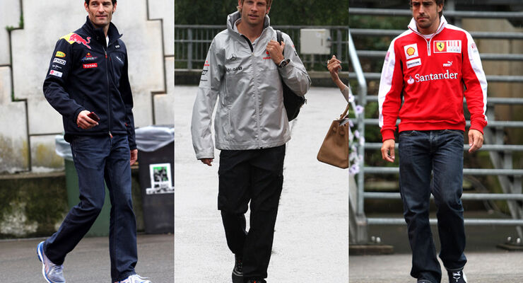Button, Alonso & Webber