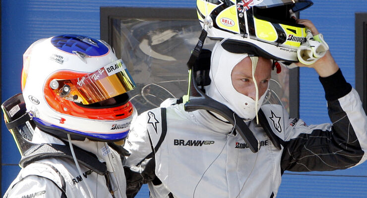 Button & Barrichello