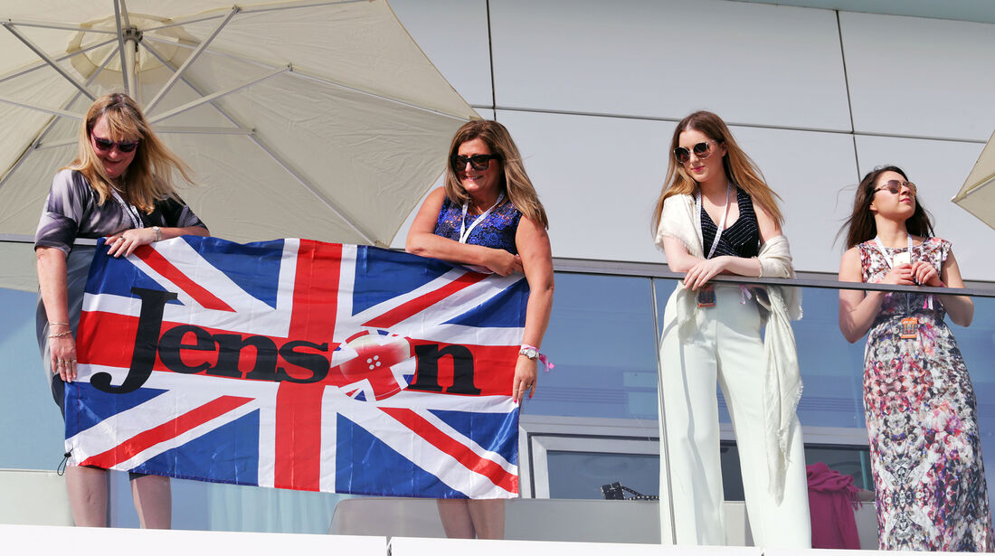 Button-Fans - Formel 1 - GP Abu Dhabi - 26. November 2016