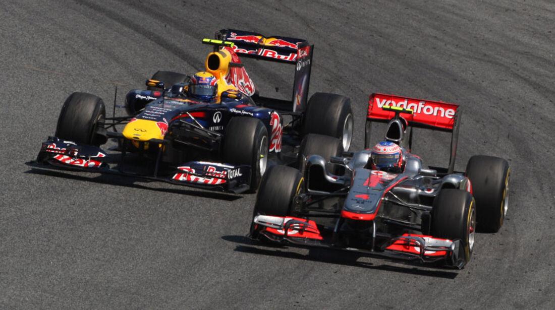 Button GP Spanien 2011