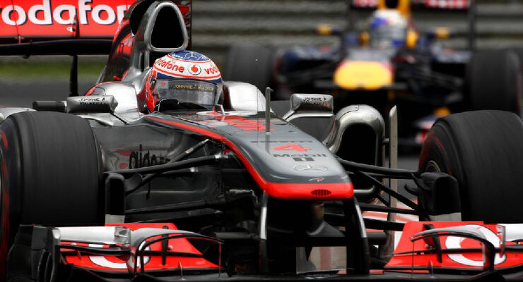 Button - Noten - GP Ungarn - Formel 1 - 31.7.2011