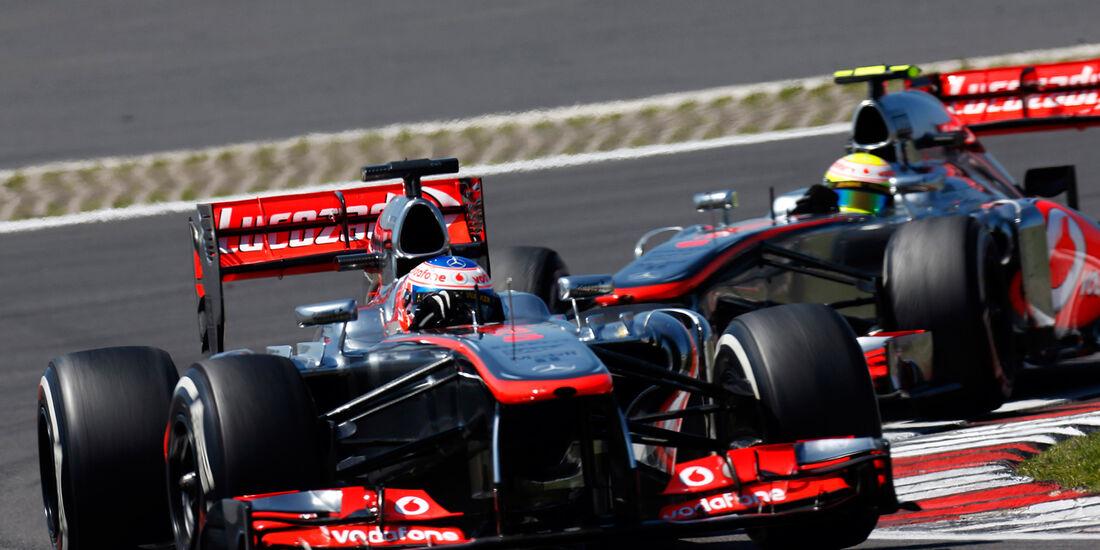 Button & Perez - McLaren - GP Deutschland 2013