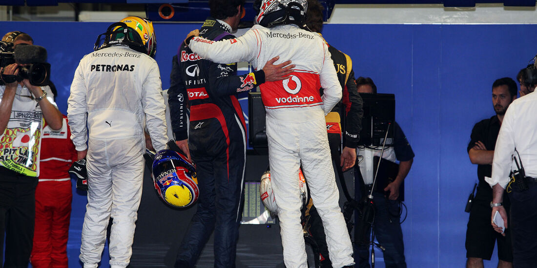 Button & Webber - Formel 1 - GP Japan - 12. Oktober 2013