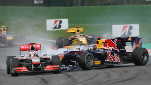 Button vs Vettel