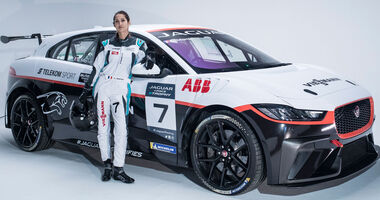 Célia Martin - Viessmann Jaguar eTrophy Team Germany - Jaguar I-Pace