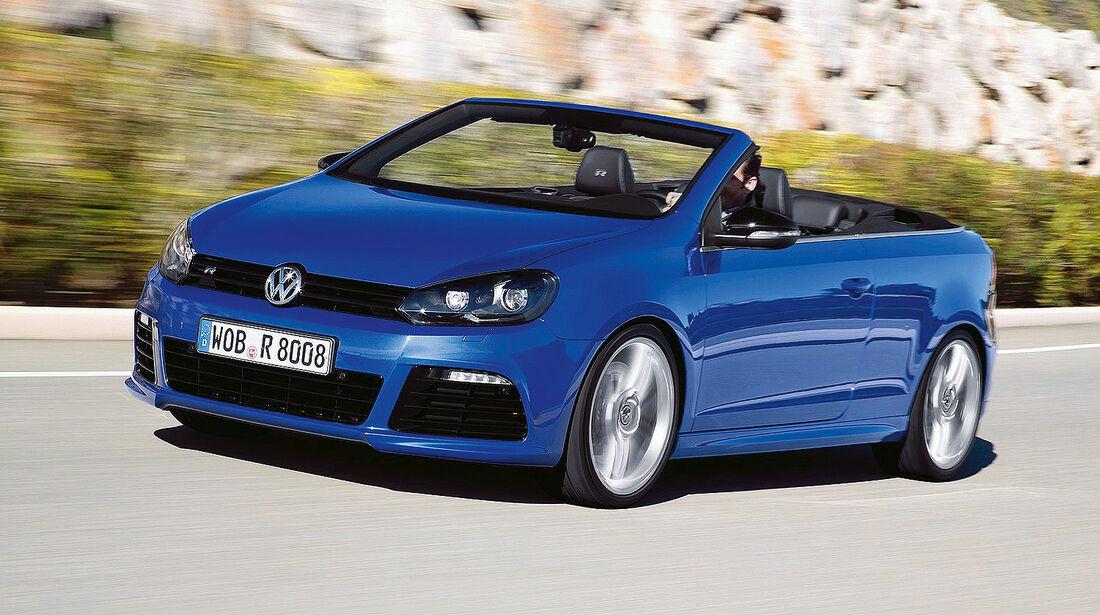 Cabrio, VW Golf R Cabrio