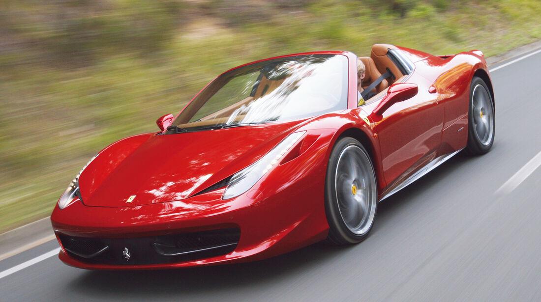 Cabrios über 150 000 €, Ferrari 458 Spider