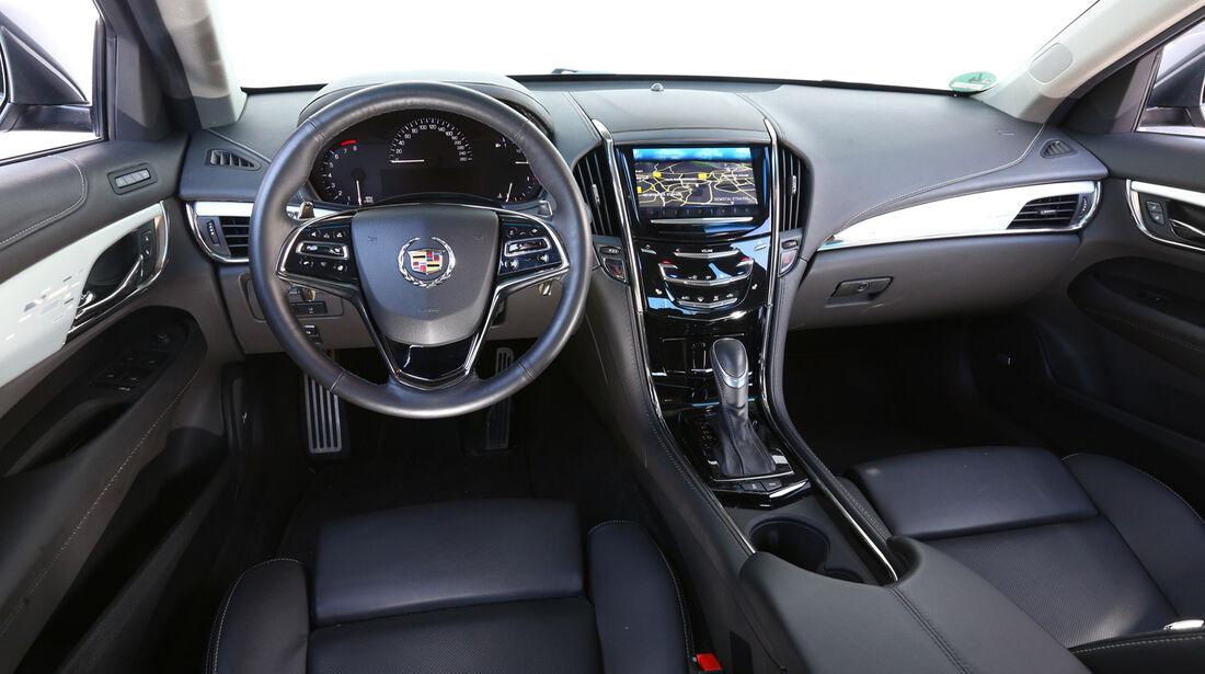 Cadillac ATS 2.0 Turbo, Cockpit, Lenkrad