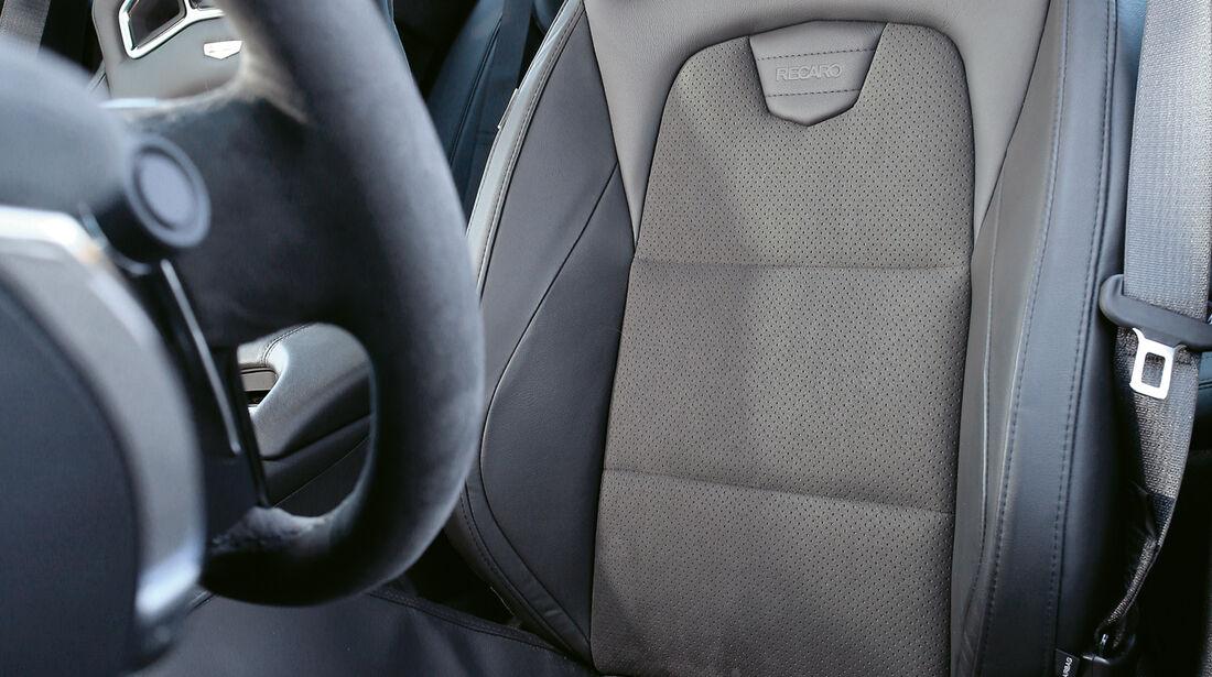 Cadillac ATS-V, Fahrersitz