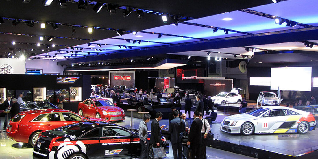 Cadillac Messestand