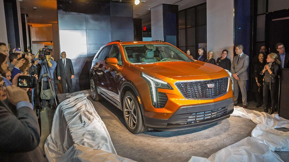Cadillac XT4 Weltpremiere New York 2018