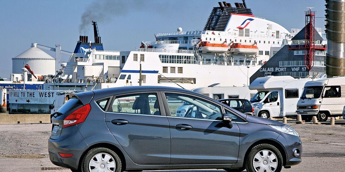 Calais, Ford Fiesta 1.4,