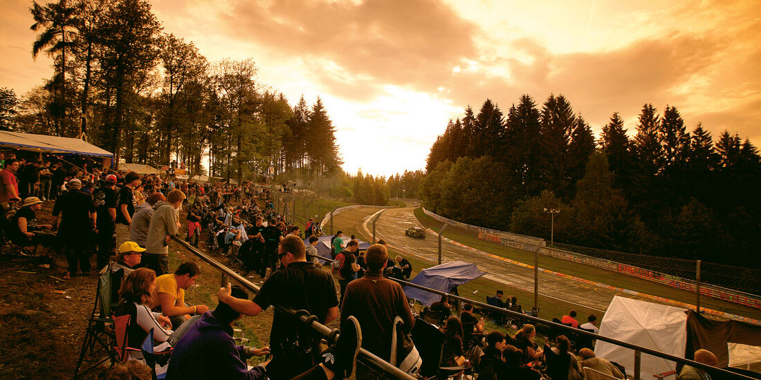 Camping, Nordschleife