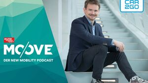 Car2Go-Chef Olivier Reppert im Moove-Podcast