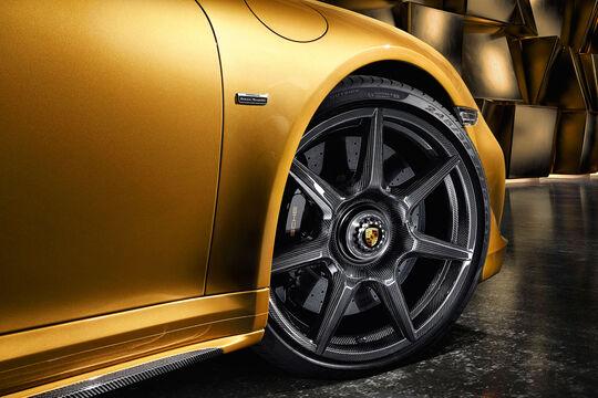 Carbon-Räder für die Porsche 911 Turbo S Exclusive Series
