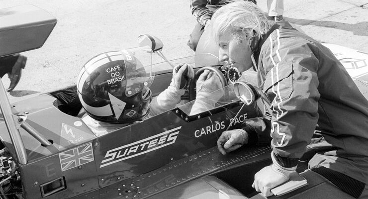 Carlos Pace - Surtees TS14A - John Surtees - Nürburgring 1973