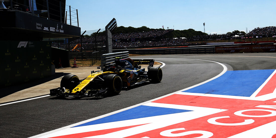 Carlos Sainz - GP England 2018