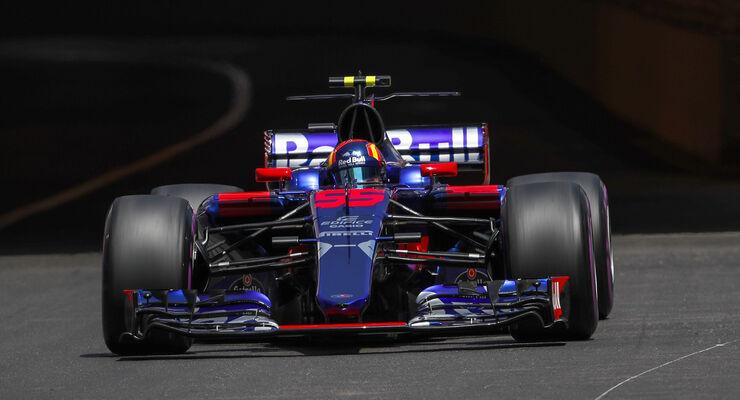 Carlos Sainz - GP Monaco 2017