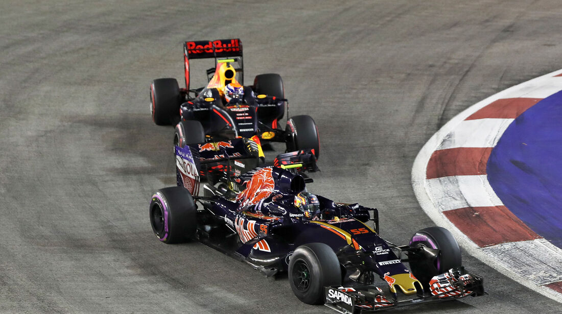 Carlos Sainz - GP Singapur 2016