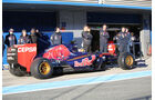 Carlos Sainz Jr - Toro Rosso - Formel 1-Test Jerez - 1. Febraur 2015