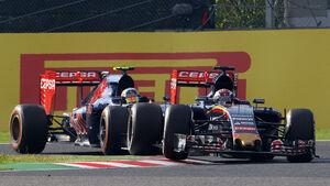 Carlos Sainz & Max Verstappen - Toro Rosso - Formel 1 - 2015