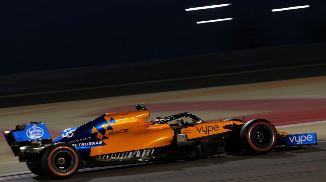 Carlos Sainz - McLaren - Formel 1 - GP Bahrain - 30. März 2019