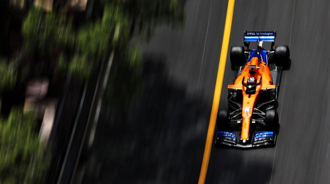 Carlos Sainz - McLaren - Formel 1 - GP Monaco - 25. Mai 2019