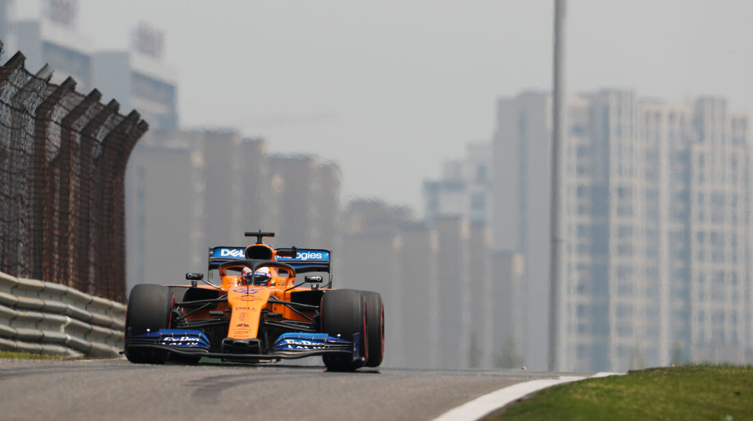 Carlos Sainz - McLaren - GP China - Shanghai - Formel 1 - Freitag - 12.4.2019
