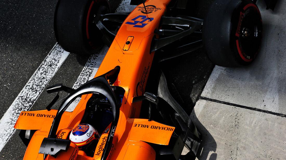 Carlos Sainz - McLaren -  GP China - Shanghai - Samstag - 13.4.2019