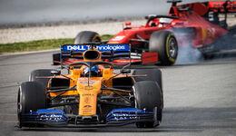 Carlos Sainz - McLaren - Testfahrten 2019 - Barcelona