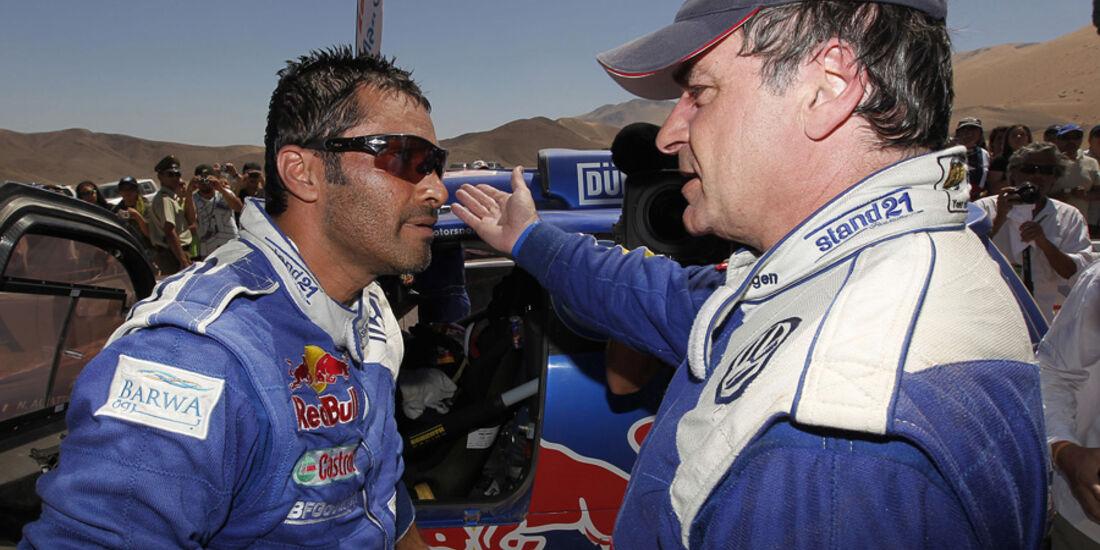 Carlos Sainz & Nasser Al-Attiyah