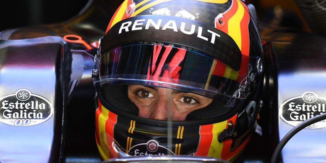 Carlos Sainz - Renault - Formel 1 - GP Brasilien - 10. November 2017