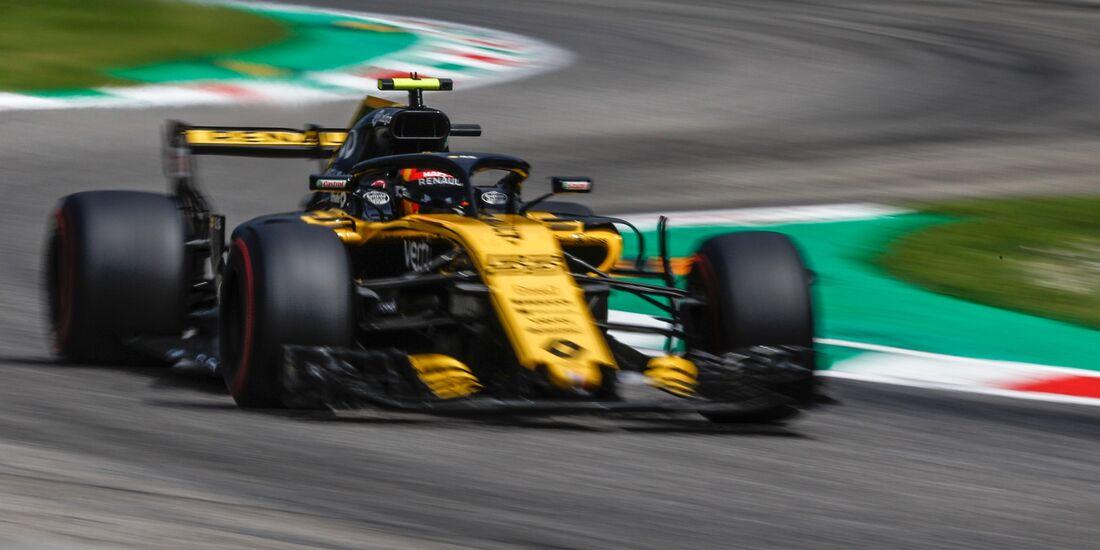 Carlos Sainz - Renault - Formel 1 - GP Italien - 01. September 2018