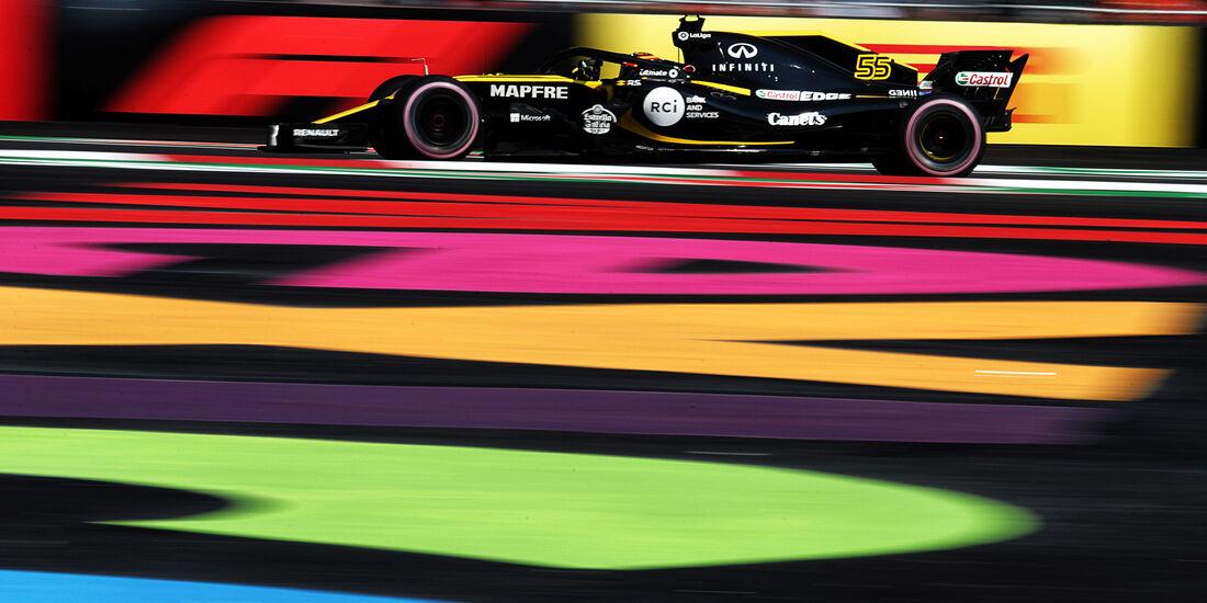 Carlos Sainz - Renault  - Formel 1 - GP Mexiko - 26. Oktober 2018