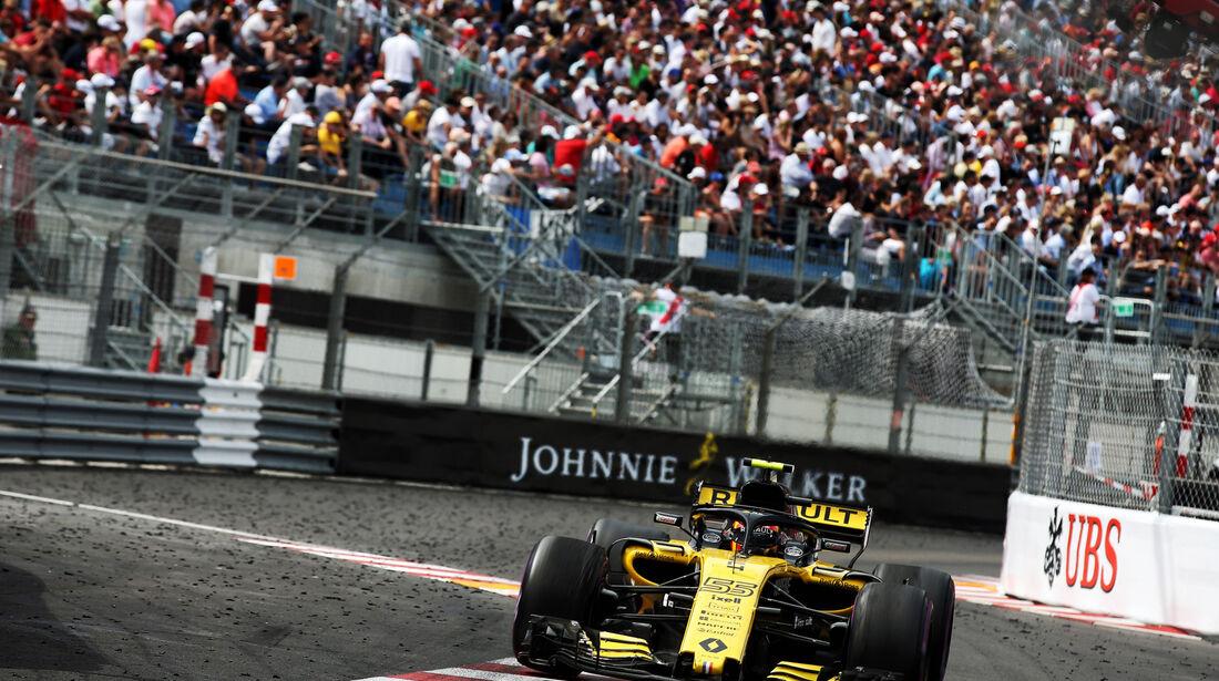 Carlos Sainz - Renault - GP Monaco 2018 - Rennen