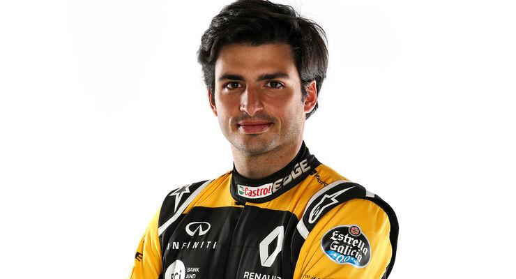 Carlos Sainz - Renault - Porträt - 2018