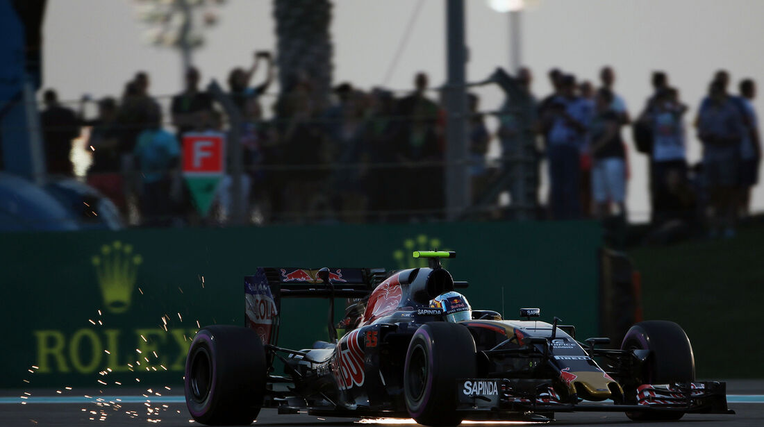 Carlos Sainz - Toro Rosso - Formel 1 - GP Abu Dhabi - 26. November 2016