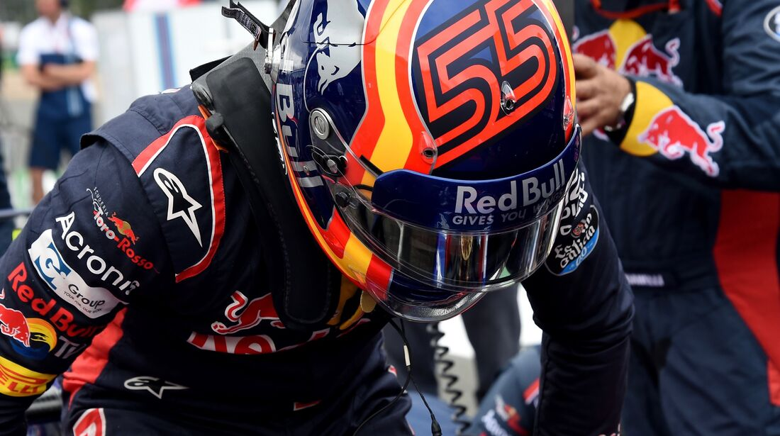 Carlos Sainz - Toro Rosso - Formel 1 - GP England - 16. Juli 2017