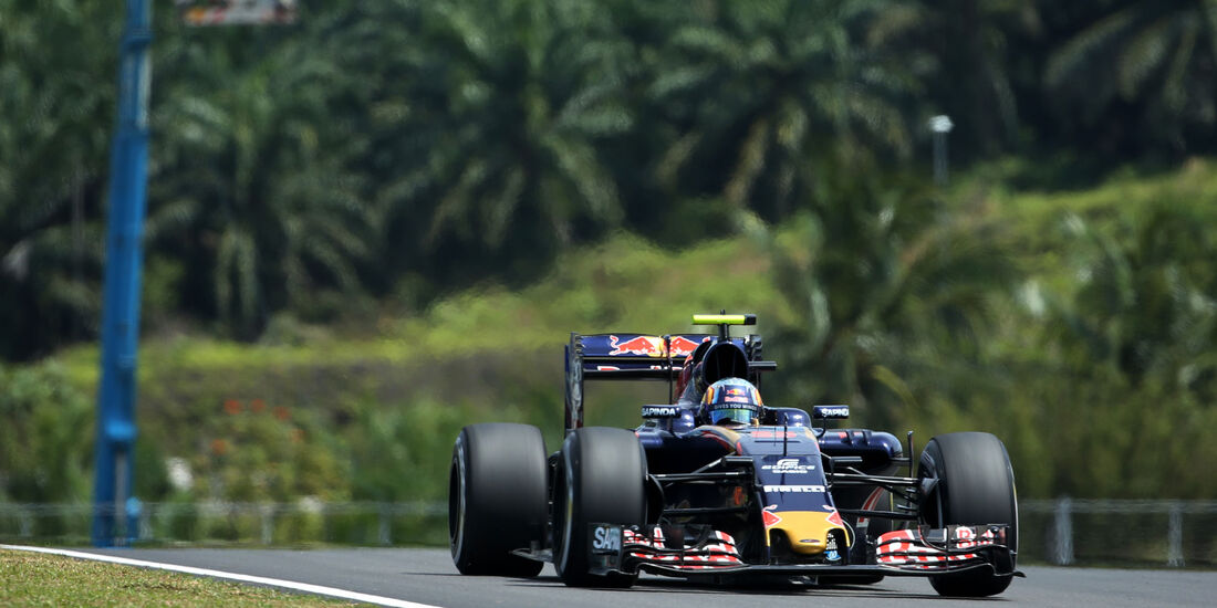 Carlos Sainz - Toro Rosso - Formel 1 - GP Malaysia - Freitag - 30.9.2016