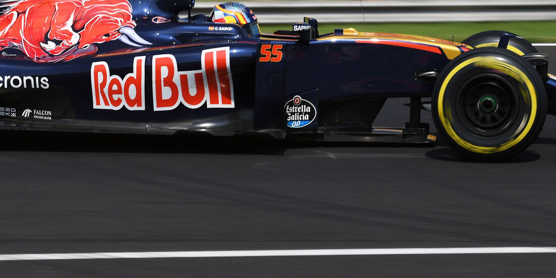 Carlos Sainz - Toro Rosso - Formel 1 - GP Ungarn - 24. Juli 2016