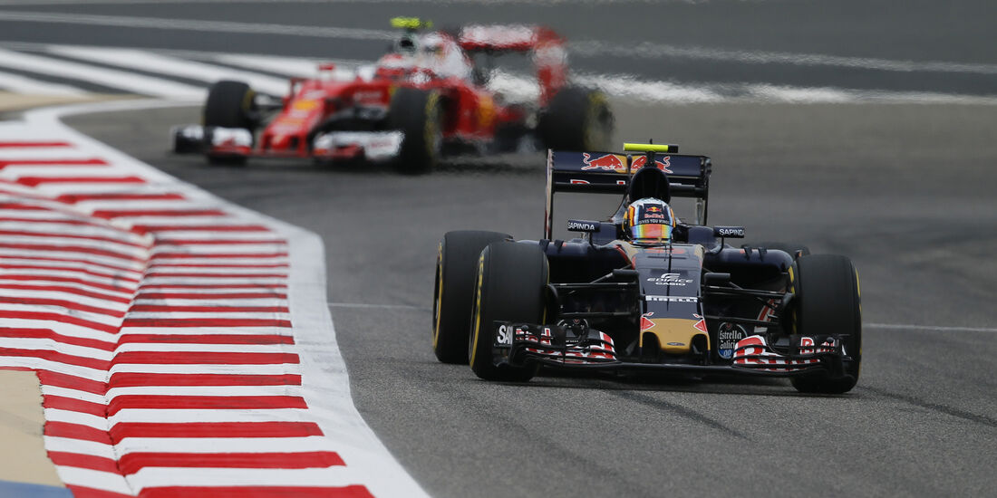 Carlos Sainz - Toro Rosso - GP Bahrain - Formel 1 - 1. April 2016