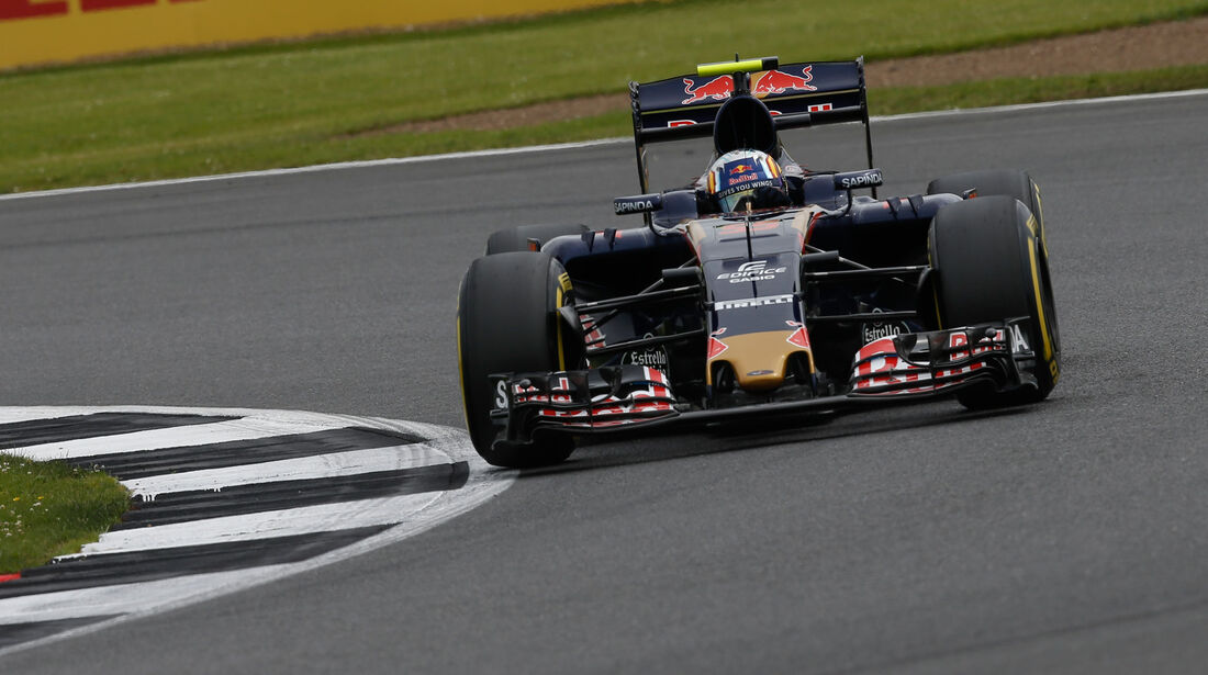 Carlos Sainz - Toro Rosso - GP England - Silverstone - Qualifying - Samstag - 9.7.2016