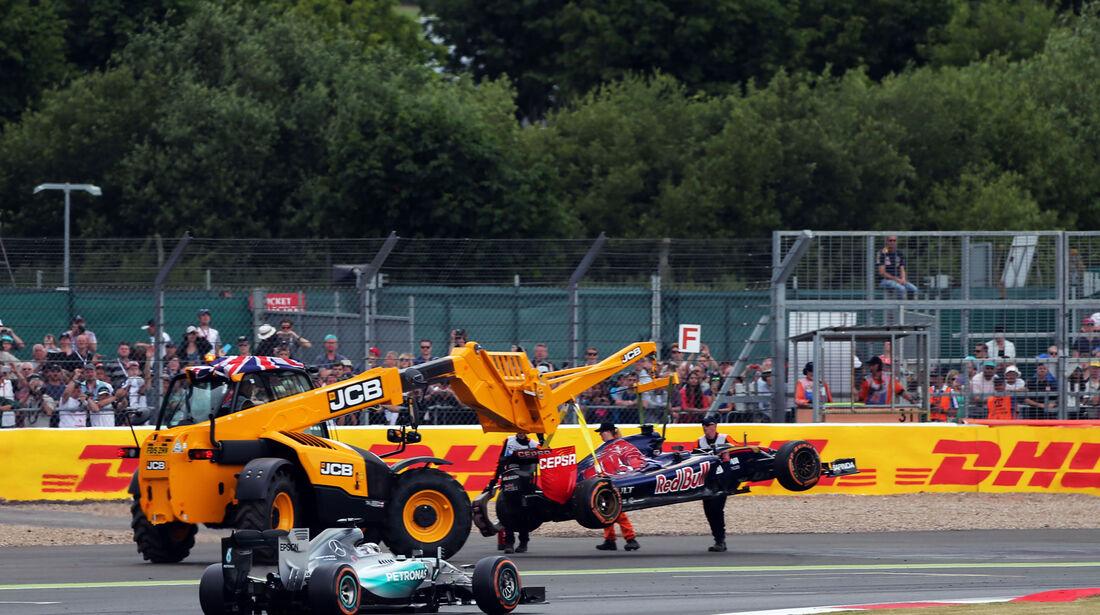 Carlos Sainz - Toro Rosso - GP England - Silverstone - Rennen - Sonntag - 5.7.2015