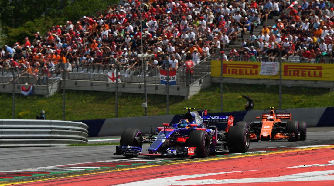 Carlos Sainz - Toro Rosso - GP Österreich 2017 - Spielberg - Rennen