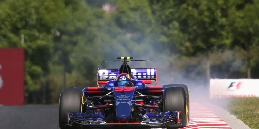 Carlos Sainz - Toro Rosso - GP Ungarn - Budapest - Formel 1 - Freitag - 28.7.2017