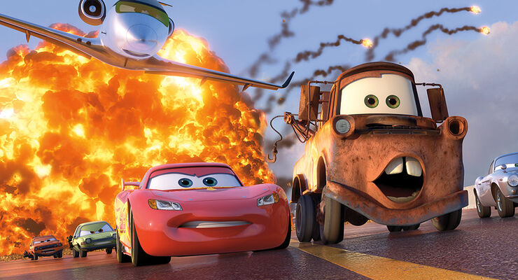 Cars 2, Lightning McQueen, Hook